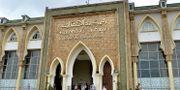 Domstolsbyggnaden i Salé i Marocko där förhandlingarna har hållits.  - / AFP