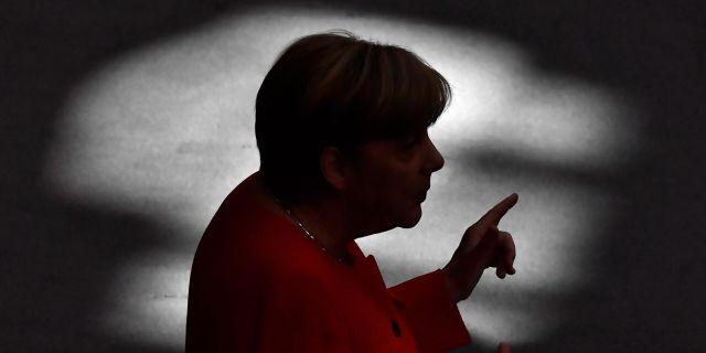Förbundskansler Angela Merkel. JOHN MACDOUGALL / AFP