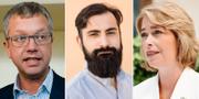 Kent Persson, Hanif Bali och Annika Strandhäll  TT