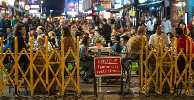 London i helgen. Dominic Lipinski / TT NYHETSBYRÅN