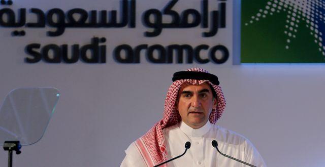 Ordförande Yasser al-Rumayyan  Hamad I Mohammed / TT NYHETSBYRÅN
