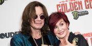 Ozzy och Sharon Osbourne. Arkiv.  Vianney Le Caer / TT NYHETSBYRÅN