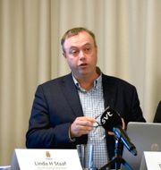 Torbjörn Rosén vid en tidigare pressträff TOVE ERIKSSON/TT / TT NYHETSBYRÅN