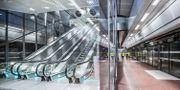 Rulltrappa på stationen Stockholm City Adam Wrafter/SvD/TT / TT NYHETSBYRÅN