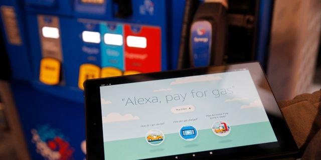 Amazon tar fram en rad olika betallösningar. John Locher / TT NYHETSBYRÅN