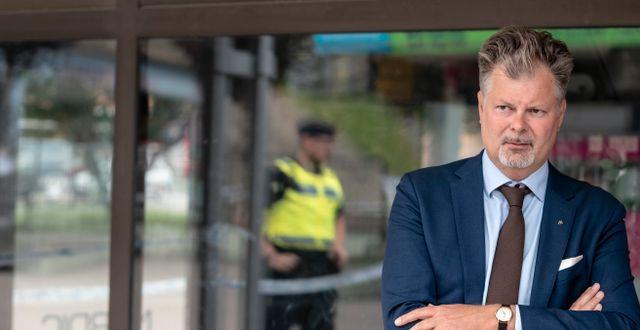 Axel Josefson (M), kommunstyrelsens ordförande i Göteborgs kommun. Björn Larsson Rosvall/TT / TT NYHETSBYRÅN