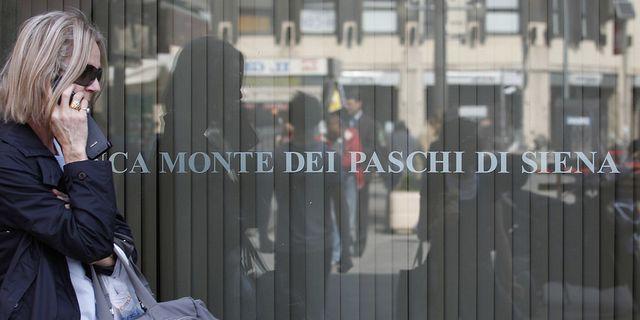 Monte dei Paschi di Siena är en av de banker som italienska staten gett stöd. Arkivbild. TT