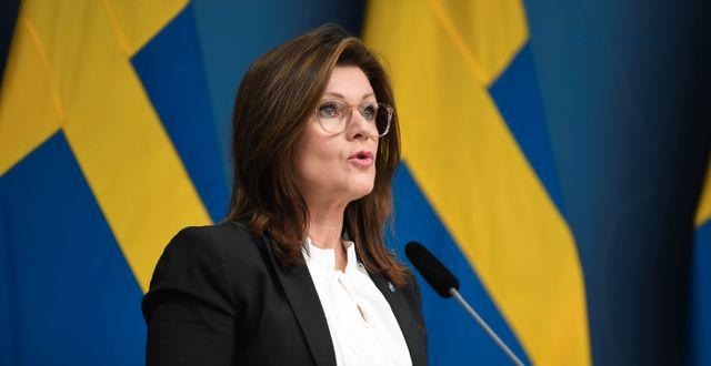 Eva Nordmark. Fredrik Sandberg/TT / TT NYHETSBYRÅN
