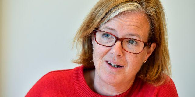 Carin Jämtin, generaldirektör på SIDA. Jonas Ekströmer/TT / TT NYHETSBYRÅN