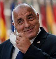 Boyko Borissov. Stephanie Lecocq / TT NYHETSBYRÅN