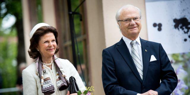 Drottnigen och kungen. Kicki Nilsson/TT / ICON