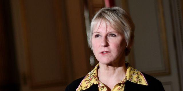 Margot Wallström.  Pontus Lundahl/TT / TT NYHETSBYRÅN