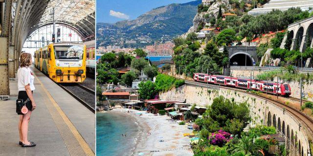För länder som inte är kopplade till tågnätet (som Cypern och Malta) ska andra transportsätt göras tillgängliga. Interrail / Wikicommons