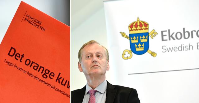 Åklagaren Gunnar Stetler under en pressträff på Ekobrottsmyndigheten med anledning av domen i Falcon Funds-målet. TT