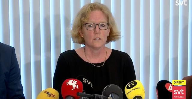 Eva Melander. SVT