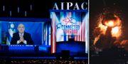 Benjamin Netanyahu/Israels anfall mot Gazaremsan. TT