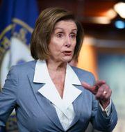 Demokraten Nancy Pelosi. J. Scott Applewhite / TT NYHETSBYRÅN