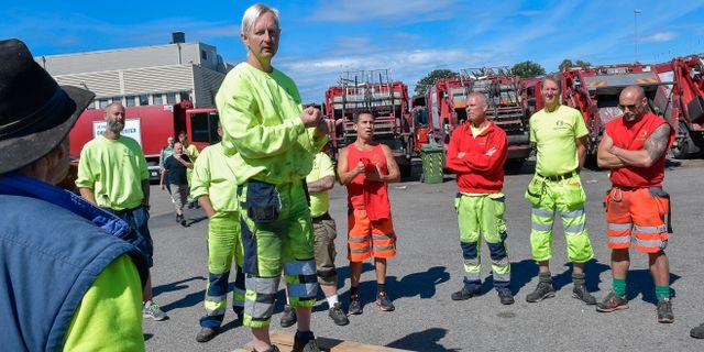 Transport har ingen forstaelse for vilt strejkande arbetare