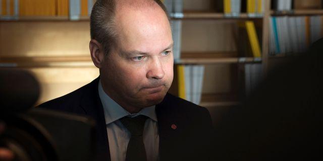 Morgan Johansson Henrik Montgomery/TT / TT NYHETSBYRÅN