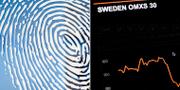 Fingerprint och Active Biotech går starkt på Stockholmsbörsen. Erik Simander/TT / TT NYHETSBYRÅN