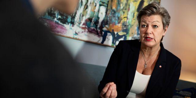 Arbetsmarknadsministern Ylva Johansson (S). Arkivbild. Naina Helén Jåma/TT / TT NYHETSBYRÅN