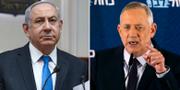 Benjamin Netanyahu/Benny Gantz. TT