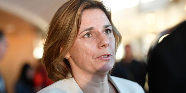 Isabella Lövin.  Stina Stjernkvist/TT / TT NYHETSBYRÅN
