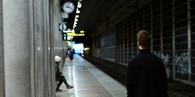 Stockholms södra under tågstoppet. Alexander Larsson Vierth/TT / TT NYHETSBYRÅN