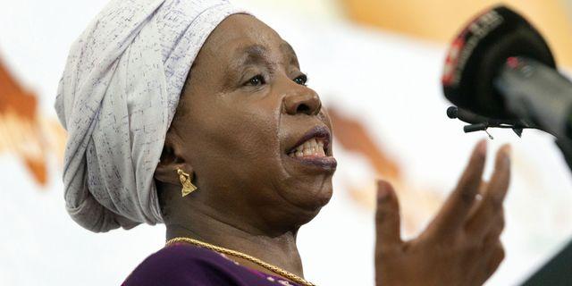 Nkosazana Dlamini-Zuma RAJESH JANTILAL / AFP