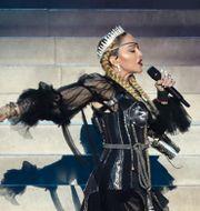 Madonna uppträdde på Eurovision-finalen 2019. ORIT PNINI / KAN