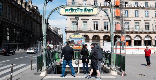 Paris, Frankrike.  Åserud, Lise / TT NYHETSBYRÅN