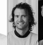Jens Magnusson, Erik Holmberg, Robert Boije Pressbilder och TT