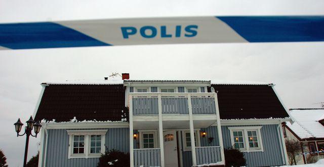 Huset där mordet i Knutby skedde. Arkivbild. Björn Larsson Ask / SvD / TT / TT NYHETSBYRÅN