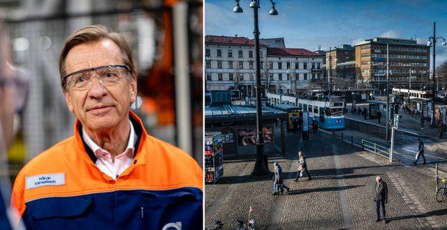 Håkan Samuelsson, vd för Volvo Cars. TT