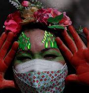 Urinvånare i Brasilien. Illustrationsbild. Eraldo Peres / TT NYHETSBYRÅN