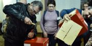Val i Vitryssland.  SERGEI GAPON / AFP