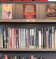 Böcker i skolbibliotek.  Pontus Lundahl/TT / TT NYHETSBYRÅN