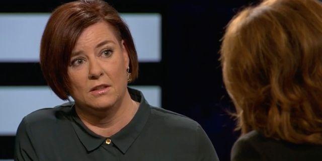 Anna Carlstedt i Agenda SVT