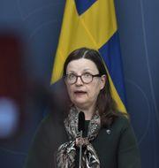 Utbildningsminister Anna Ekström (S). Janerik Henriksson/TT / TT NYHETSBYRÅN.