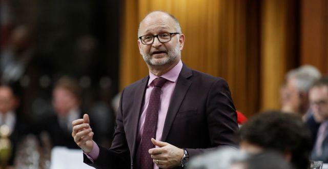 Kanadas justitieminister David Lametti. BLAIR GABLE / TT NYHETSBYRÅN