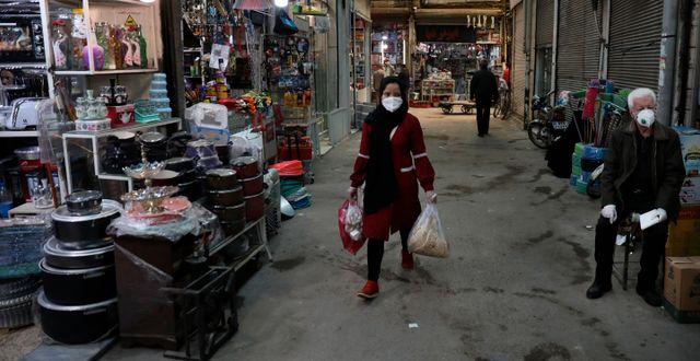 Teheranbor. Vahid Salemi / TT NYHETSBYRÅN