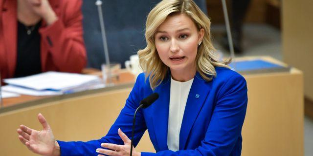Ebba Busch. Janerik Henriksson/TT / TT NYHETSBYRÅN