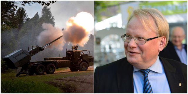 Regeringen anslår 450 miljoner kronor till kanoner av typen Archer. Enligt försvarsminister Peter Hultqist kan kanonerna förstärka Försvarsmaktens kapacitet i ett sämre säkerhetspolitiskt läge. TT