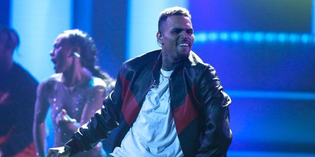 Artisten Chris Brown Matt Sayles / TT NYHETSBYRÅN/ NTB Scanpix