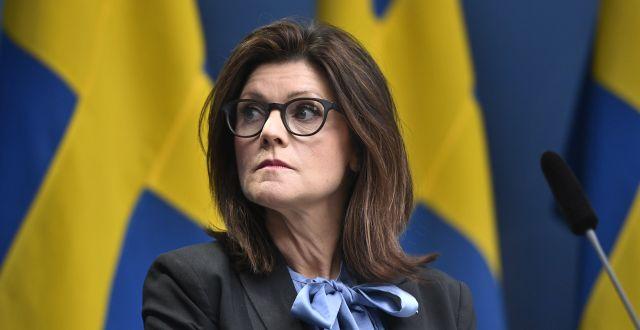 Eva Nordmark (S).  Ali Lorestani/TT / TT NYHETSBYRÅN