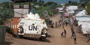 Arkivbild: FN-personal i Juba, Sydsudan.  Jason Patinkin / TT NYHETSBYRÅN