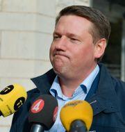 Kommunals Tobias Baudin. Anders Wiklund/TT / TT NYHETSBYRÅN