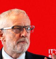 Jeremy Corbyn i Blackpool. Phil Noble / TT NYHETSBYRÅN
