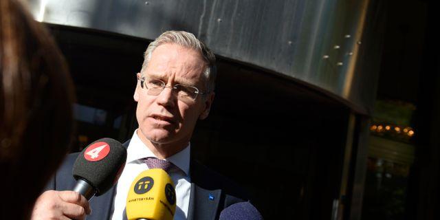 Rickard Gustafson. Vilhelm Stokstad/TT / TT NYHETSBYRÅN