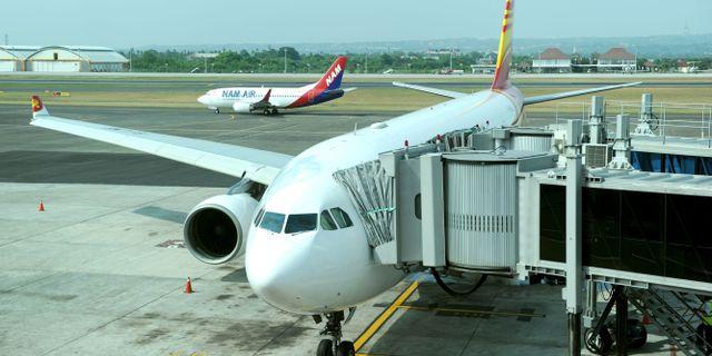 Tvingades flyga med skadat plan